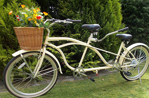 Tandem hire by Miss Pepperday's Tricycle Treats